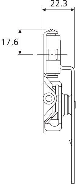 Pocket Door Sliding System for Tall Doors DB1432