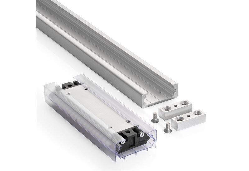 Heavy Duty Linear Motion Guide in Aluminium DA0116-RC