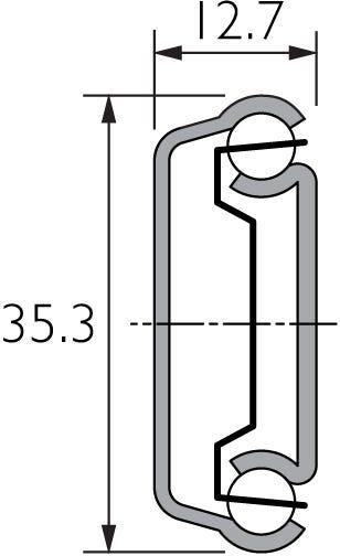 Part Extension Drawer Runner DZ2132