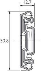 """Teleskopschiene für 19"""" Rack DZ3308-2"""