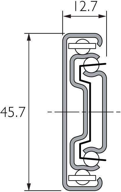 Light Duty Slide Front Disconnect DZ3832-DO