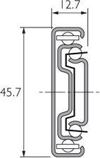 Auszugsschiene mit Selbsteinzug DZ3832-HDSC
