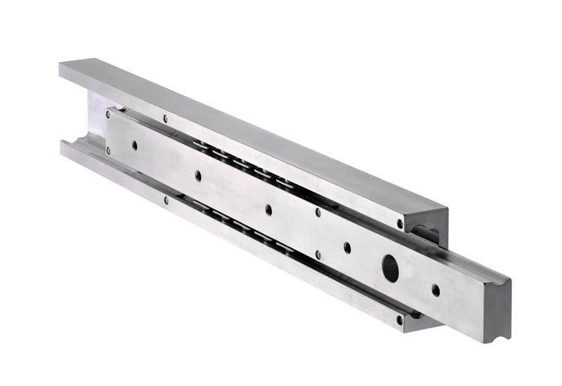 Aluminium-Schiene, Teilauszug DA4120