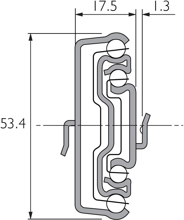 Slide with Bayonet Mounting DZ5517-50