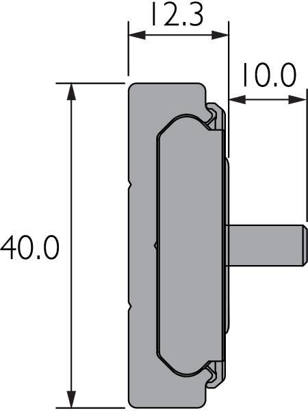 Prowadnica liniowa z wózkiem z kulkami obiegowymi DA0115-RC