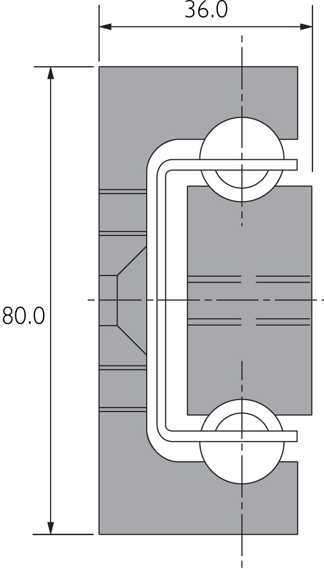 Aluminium Part Extension Slide DA4120