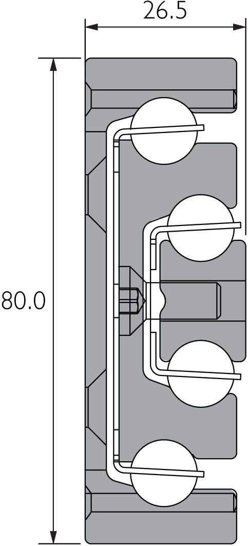 Aluminium Heavy Duty Full Extension Slide DA4160