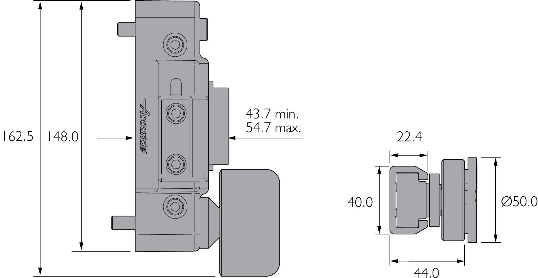 Slide and Tilt Drawer System DA4190