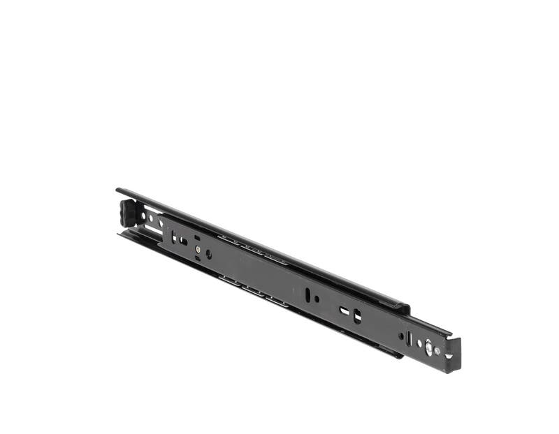 Part Extension Drawer Runner Black DB2132