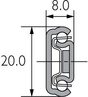 Ball Bearing Linear Motion Slide DZ2415